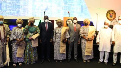 Photo of GOV. SANWO-OLU DELIVERS HIS STATE-OF-THE- STATE ADDRESS AT LAGOS HOUSE, IKEJA ON THURSDAY, MAY 27, 2021.