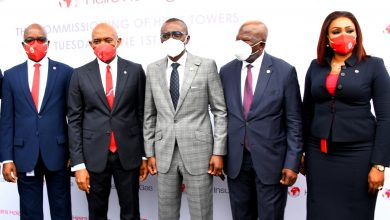 Photo of GOV. SANWO-OLU AT COMMISSIONING OF HEIRS TOWERS AT AJOSE ADEOGUN, VICTORIA ISLAND, LAGOS, ON TUESDAY, JUNE 1, 2021