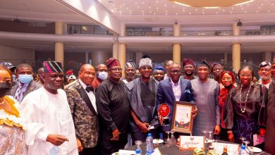 Photo of GOVERNOR SANWO-OLU RECEIVES VANGUARD PERSONALITY OF THE YEAR AWARD AT EKO HOTELS AND SUITES, VICTORIA ISLAND, ON SATURDAY, JULY 17, 2021