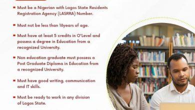 Photo of THE LAGOS STATE TEACHERS' RECRUITMENT