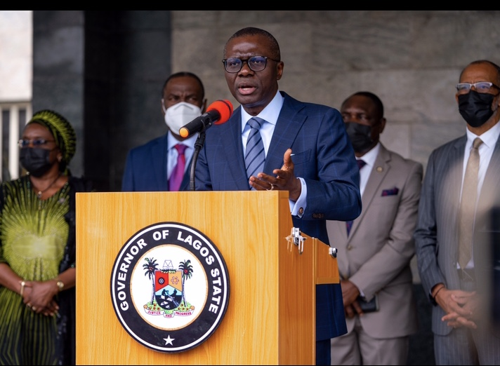 SANWO-OLU FLASHES RED FLAG, AS COVID-19 CASES SURGE IN LAGOS