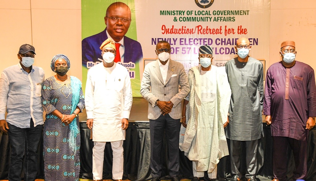 COMMIT YOUR RESOURCES TO INCLUSIVE, RESULT-ORIENTED PROGRAMMES, SANWO-OLU ADVISES COUNCIL CHAIRMEN