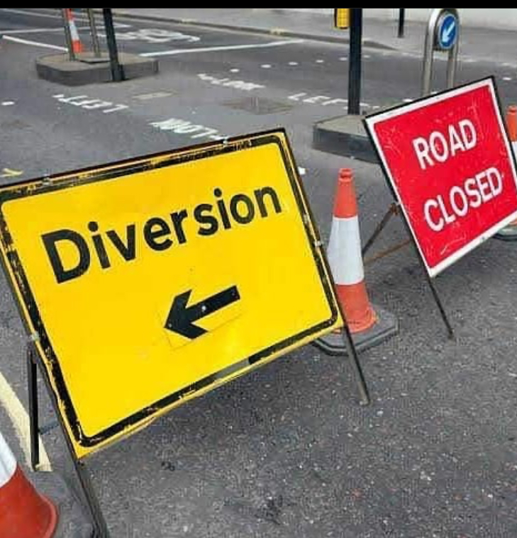 Traffic Diversion At Yaba Axis For Red Line Mass Transit Project